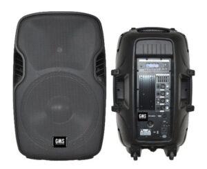 """Активна 15"""" колона GMS AUDIO FPC15A с вграден MP3 Player"""