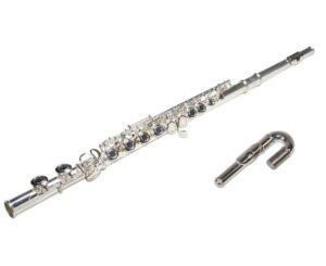 флейта studio, флейта, c-строй, отворени клапи, извит мундщук