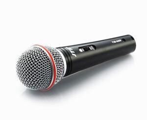 Кабелен вокален микрофон JTS TM929, с кабел и кутия